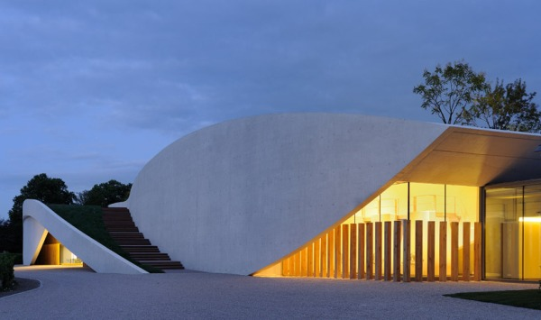 christian de portzamparc chateau chevel blanc winery architecture 20