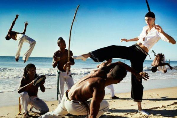karlie kloss heads brazil vogue us july 2012 photographer mario testino 3 Karlie Kloss for Vogue by Mario Testino