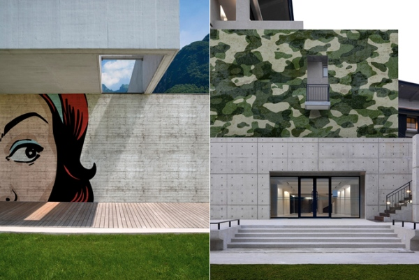 outdoor wall paper by wall and deco 4