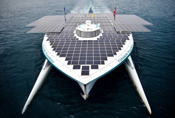 planetsolar the first solar powered boat around the world circumnavigate 1