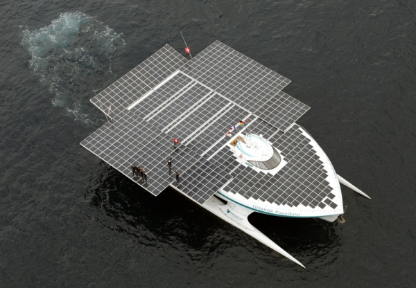 planetsolar the first solar powered boat around the world circumnavigate 4