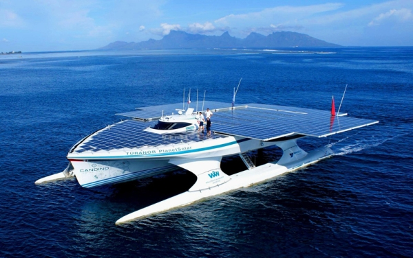 planetsolar the first solar powered boat around the world circumnavigate 7