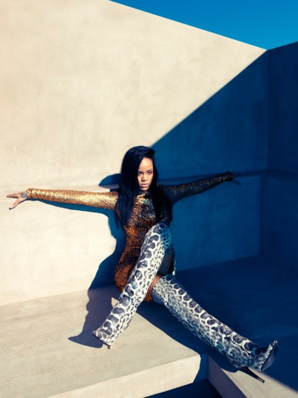 rihanna by camilla akrans for harpers bazaar united states august 2012 photography 2 Rihanna by Camilla Akrans for August 2012 Harpers Bazaar