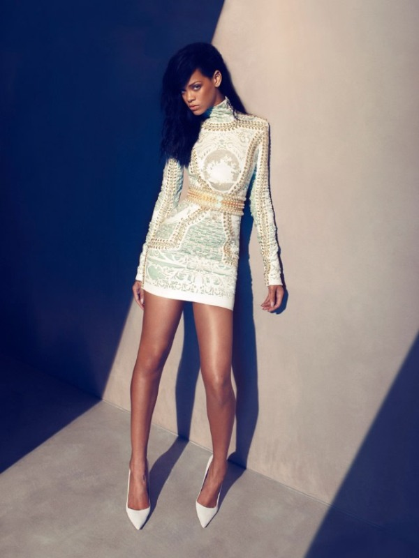 rihanna by camilla akrans for harpers bazaar united states august 2012 photography 3 Rihanna by Camilla Akrans for August 2012 Harpers Bazaar