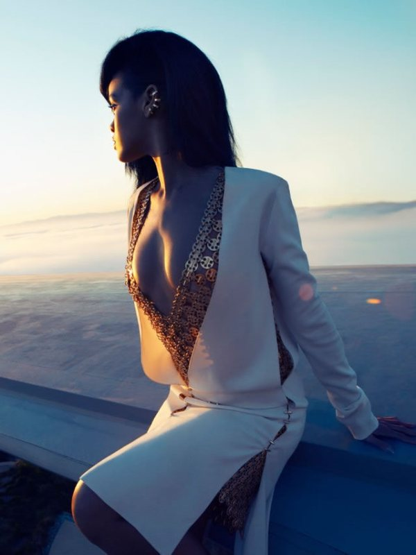 rihanna by camilla akrans for harpers bazaar united states august 2012 photography 6