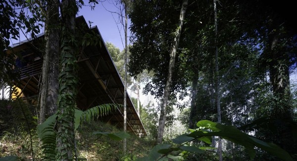 shelter at rainforest malaysia by marra and yeh architects 1 Malaysia Rainforest Shelter by Marra + Yeh