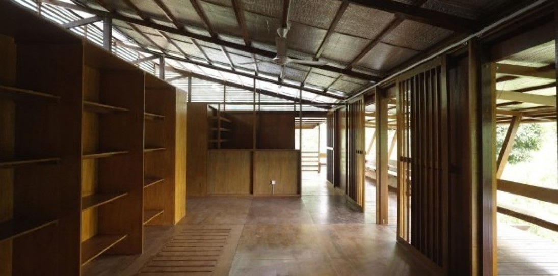 Malaysia Rainforest Shelter by Marra + Yeh