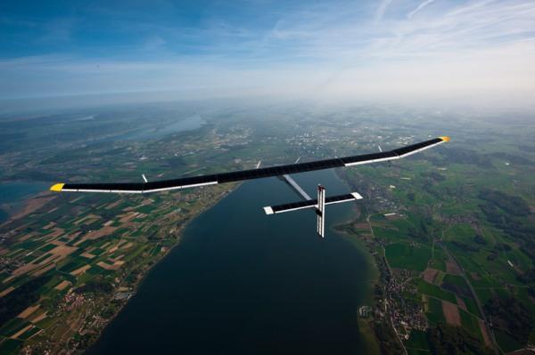 solar impulse forst solar powered intercontinental aircraft journey HB SIA airplane 3