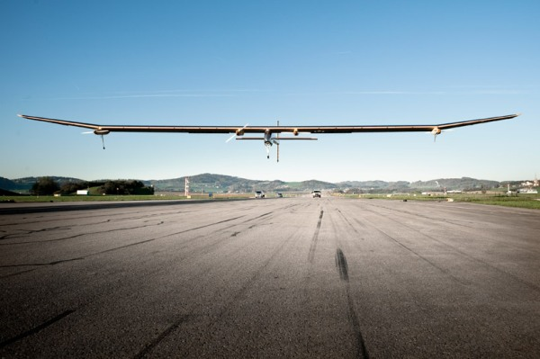 solar impulse forst solar powered intercontinental aircraft journey HB SIA airplane 4