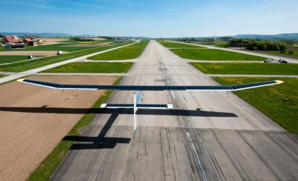 solar impulse forst solar powered intercontinental aircraft journey HB SIA airplane 5