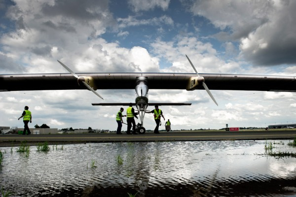 solar impulse forst solar powered intercontinental aircraft journey HB SIA airplane 7