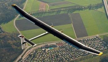 Solar Impulse HB SIA Solar Powered Aircraft