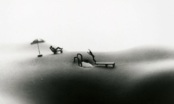 Allan Teger Miniature Body Swimming 13 Body Scapes by Allan Teger
