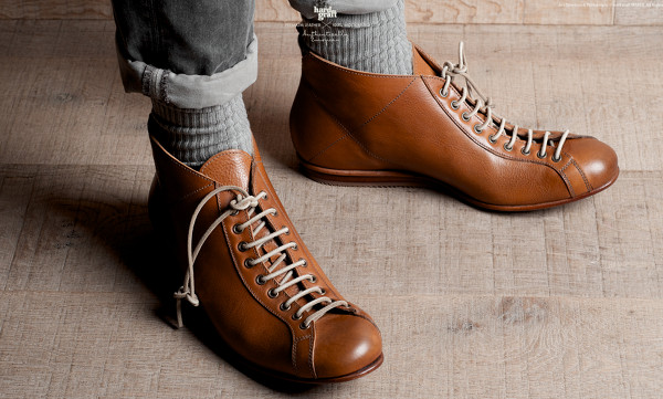 Hard Graft Shoes – Mens Low Boot – 2