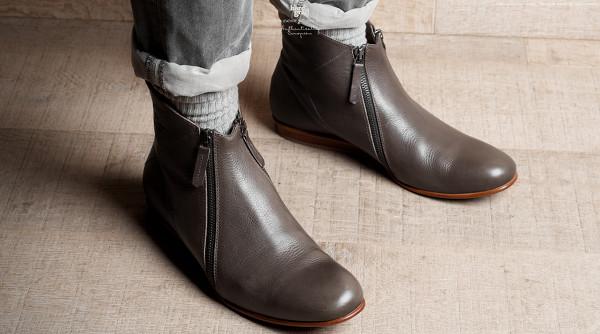 Hard Graft Shoes – Mens Zip Boot – 2