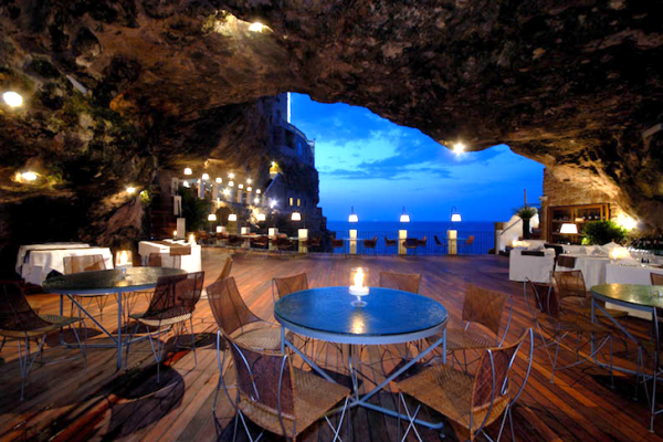 The Summer Sea Cave Restaurant Southern Italy Eco Architecture 1 Sea Cave Restaurant in Southern Italy