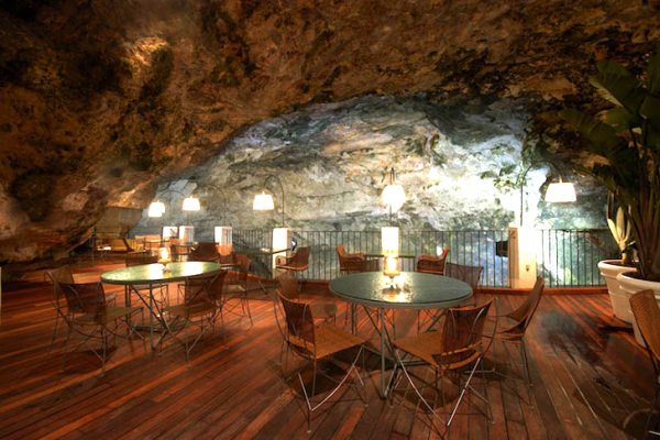 The Summer Sea Cave Restaurant Southern Italy Eco Architecture 2 Sea Cave Restaurant in Southern Italy