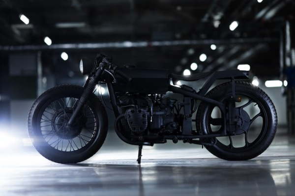 bandit9 motocycle design bandit 3 nero matte black 2 Nero Motorcycle by Bandit9