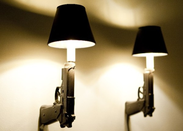 ceramic gun lights by designer ryan weigner 1 Ceramic Gun Lights by Ryan Weigner