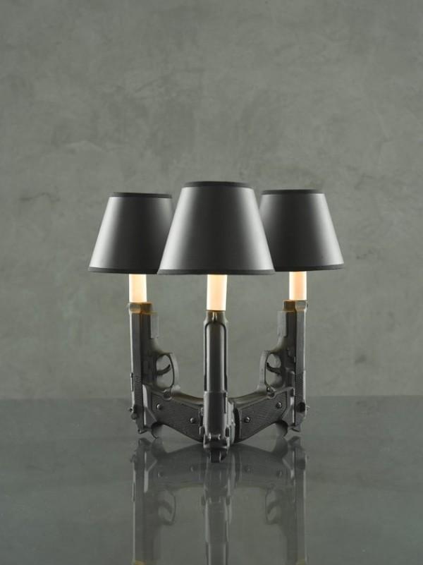 ceramic gun lights by designer ryan weigner 3 Ceramic Gun Lights by Ryan Weigner