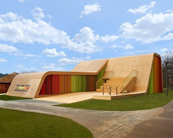 colorful functional and sustainable spanish pavilion by pulgon diseno architecture in venlo netherlands 1 Spanish Pavilion by Pulgon Diseno Architects