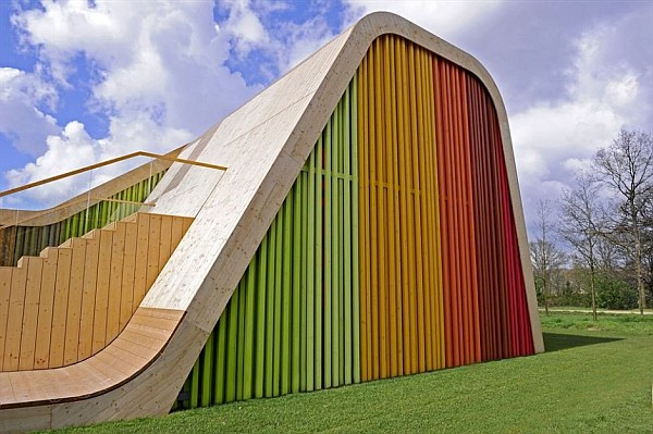 colorful functional and sustainable spanish pavilion by pulgon diseno architecture in venlo netherlands 3
