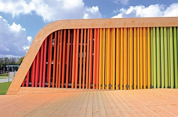 colorful functional and sustainable spanish pavilion by pulgon diseno architecture in venlo netherlands 5