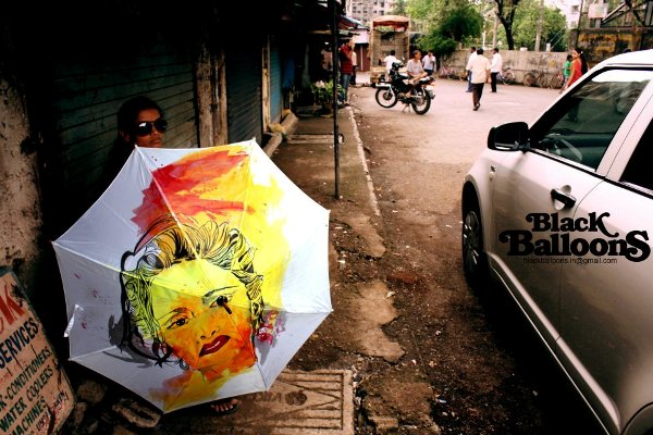 handpainted umbrella designs made in india by black balloons for monsoon season 10