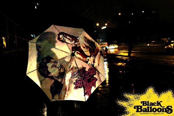 handpainted umbrella designs made in india by black balloons for monsoon season 17