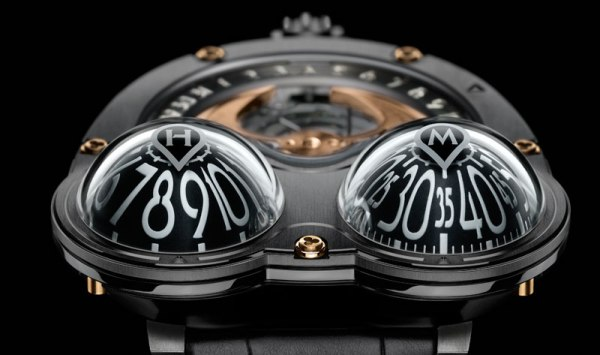 max busser and company horological machine 3 poison dart frog watch pvd coated zirconium yellow gold black 1 MB&F Poison Dart Frog Watch