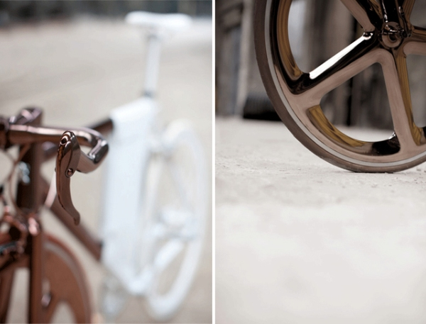 peugeot design labratory DL121 bicycle designer cathal loughnane copper and white 5