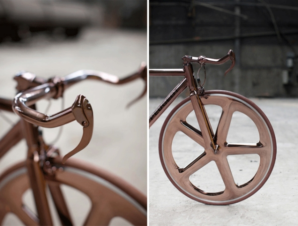 peugeot design labratory DL121 bicycle designer cathal loughnane copper and white 6
