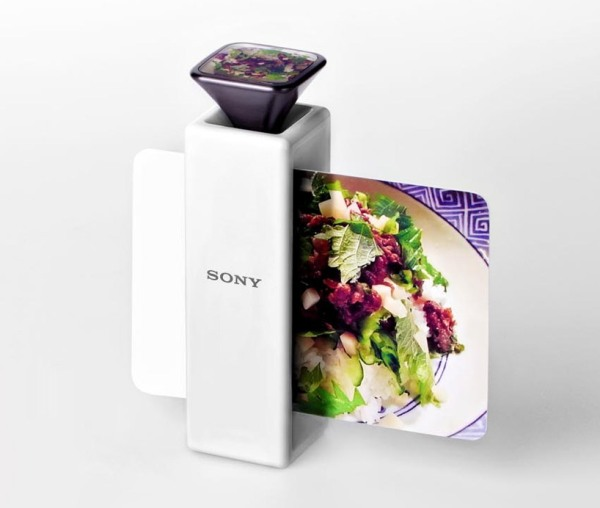 scent capturing post card printer for sony by Li jing Xuan 1 Sony Scent Capturing Post Card Printer