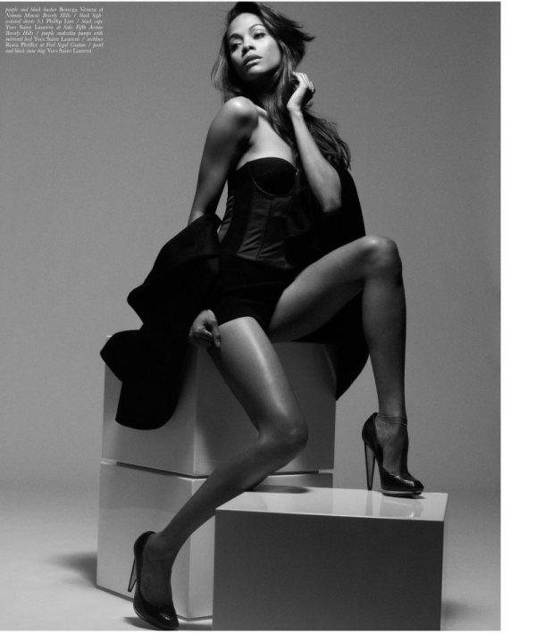 zoe saldana spetmeber cover malibu magazine photographer mark squires 1 Zoe Saldana for Malibu Magazine