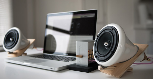 Ceramic Speakers by Joey Roth Wired Home Office: 10 Gadgets for a Creative Home Office