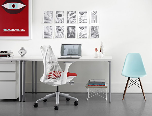 creative home office. Contemporary Creative Herman Miller SAYL Chair With Creative Home Office O
