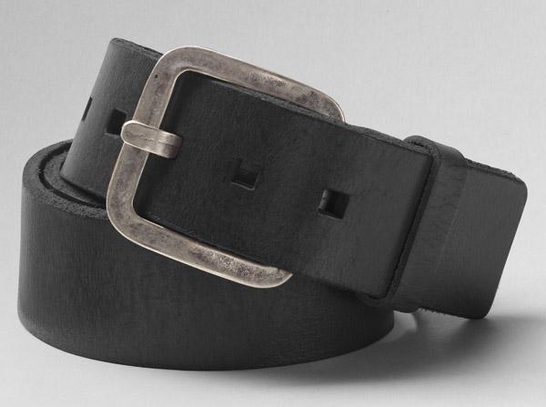 Levi harness belt in black