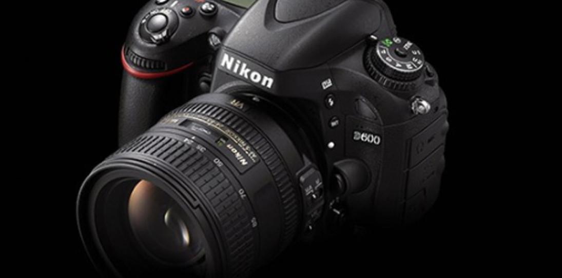 Nikon D600 Full Frame DSLR