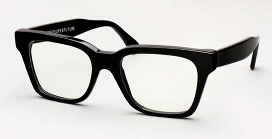 Super America Black Eyeglasses