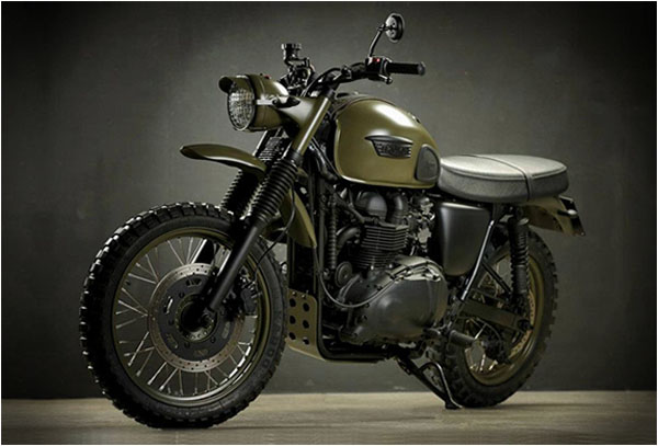 Triumph Desert by Drags and Racing 1 Triumph Desert by Drags and Racing