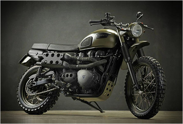 Triumph Desert by Drags and Racing 2