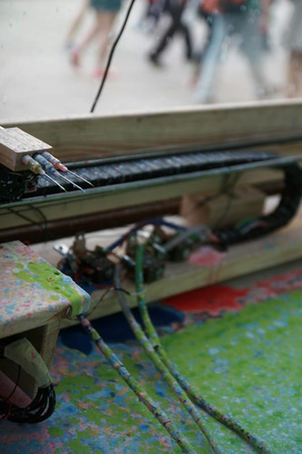 city paint machine panGenerator robot creates paintings like jackson pollock 3