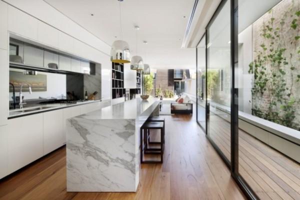 nicholson residence by matt gibson architecture + design in melbourne australia 2