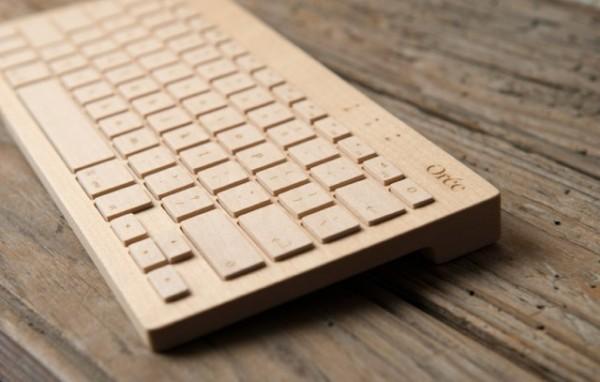 oree wireless maple or walnut wooden computer keyboard 1 The Orée Wireless Wooden Keyboard