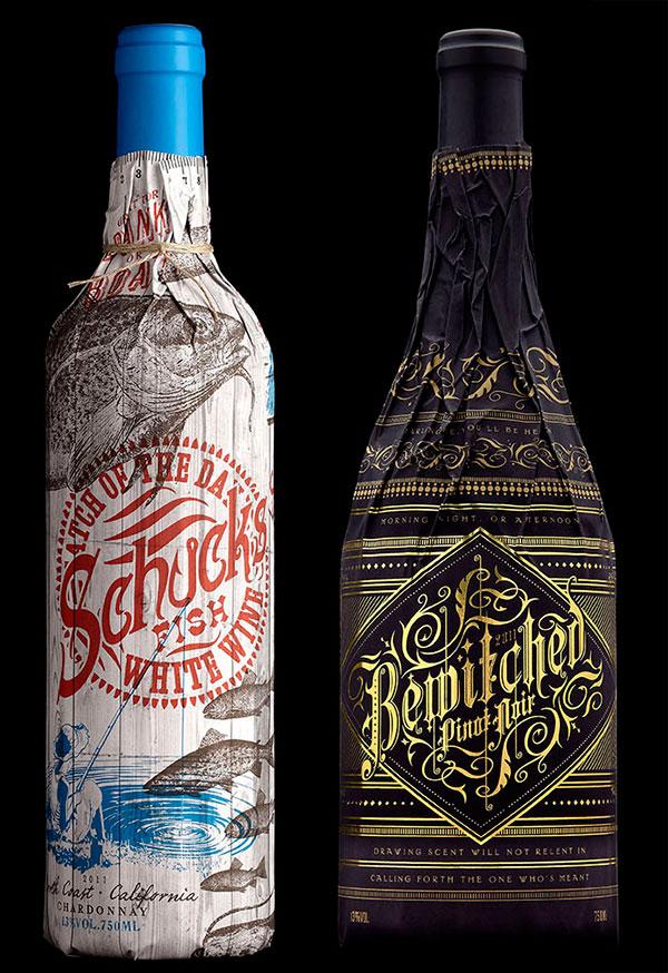 stranger and stranger wine packagine 2012 3