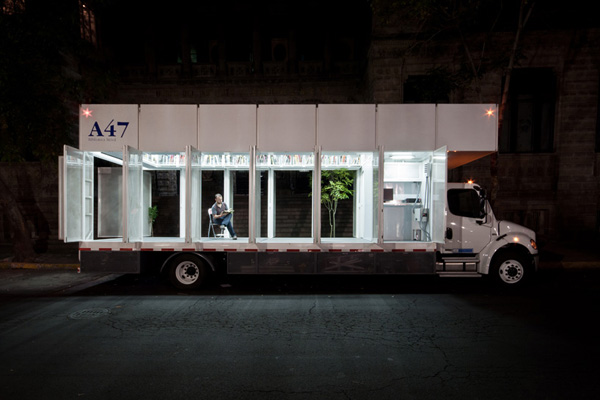 A47 Mobile Library by Productora
