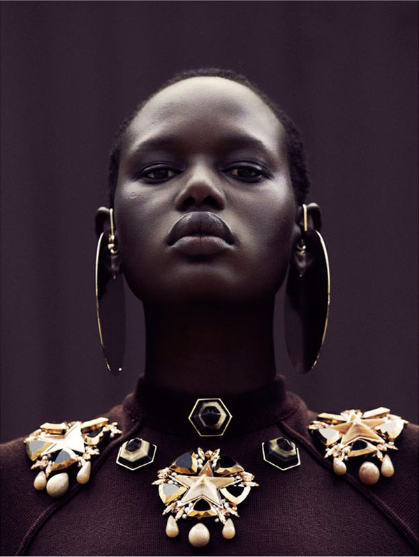 Ajak Deng in Obsession Magazine 8 Ajak Deng in Obsession Magazine
