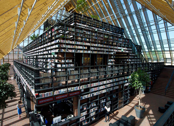 Book Mountain by MVRDV 1 Book Mountain by MVRDV