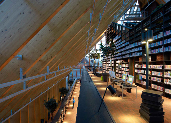 Book Mountain by MVRDV 7 Book Mountain by MVRDV