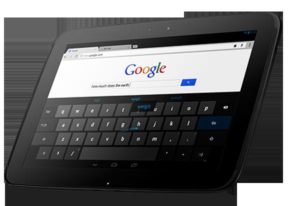 Google Nexus 10 Tablet 5
